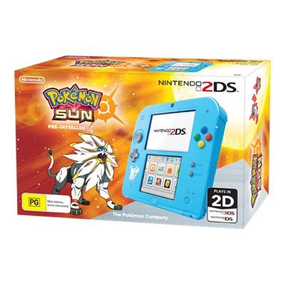 Nintendo - 2DS HW S.BL POKE SUN PREINSTALLATO