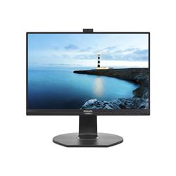 """Écran LED Philips Brilliance B-line 221B7QPJKEB - Écran LED - 22"""" (21.5"""" visualisable) - 1920 x 1080 Full HD (1080p) - IPS - 250 cd/m² - 1000:1 - 5 ms - HDMI, VGA, DisplayPort - haut-parleurs - noir texturé"""