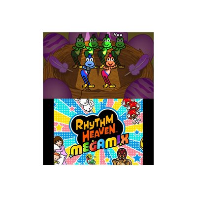 Nintendo - 3DS RHYTHM PARADISE MEGAMIX