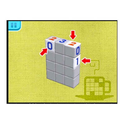 Nintendo - 3DS PICROSS 3D ROUND 2