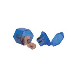 Porte mines GIOTTO - Taille-crayon - 3 trous - assortiment - plastique