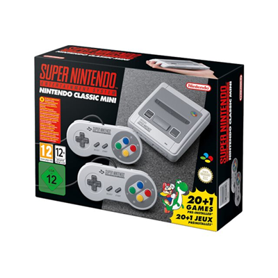 Nintendo - NINTENDO CLASSIC MINI SUPER NES HW