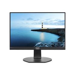 "Écran LED Philips Brilliance B-line 241B7QPTEB - Écran LED - 24"" (23.8"" visualisable) - 1920 x 1080 Full HD (1080p) - IPS - 250 cd/m² - 1000:1 - 5 ms - HDMI, VGA, 2xDisplayPort, Mini DisplayPort - haut-parleurs - noir texturé avec socle noir"