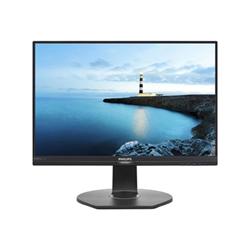 """Écran LED Philips Brilliance B-line 242B7QPTEB - Écran LED - 24"""" (23.8"""" visualisable) - 2560 x 1440 - IPS - 300 cd/m² - 1000:1 - 5 ms - HDMI, VGA, DisplayPort, Mini DisplayPort - haut-parleurs - noir, noir texturé"""