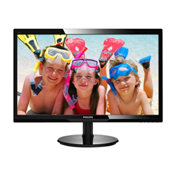 Monitor LED Philips - 24 1920x1080 16:9 250 hdmi dvi vga