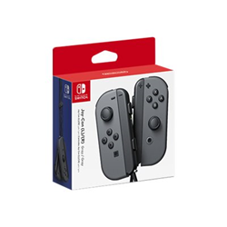Contrôleurs NINTENDO Joy-Con(Right) - Joy-Con gamepad(Left) - Gamepad - sans fil - gris - pour Nintendo Switch