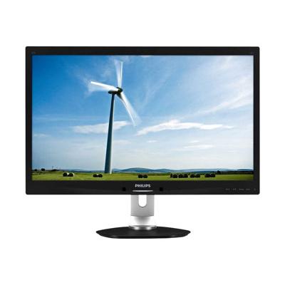Écran LED 27  LED  1920 1080  16 9  POWERSENSOR (sensore presenza)  300 cdm   display port  dvi  vga  5ms   regolazione in H  girevole  pivot  vesa