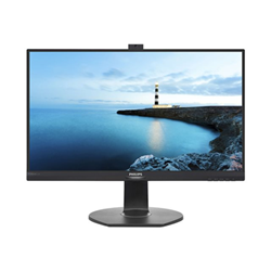 "Écran LED Philips Brilliance B-line 272B7QPTKEB - Écran LED - 27"" - 2560 x 1440 - IPS - 350 cd/m² - 1000:1 - 5 ms - HDMI, VGA, DisplayPort, Mini DisplayPort - haut-parleurs - noir texturé"