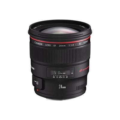 Canon - EF 24MM F1.4 L USM II