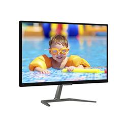 "Écran LED Philips E-line 276E7QDAB - Écran LED - 27"" - 1920 x 1080 Full HD (1080p) - IPS - 250 cd/m² - 1000:1 - 5 ms - DVI-D, VGA, HDMI (MHL) - haut-parleurs - noir brillant"