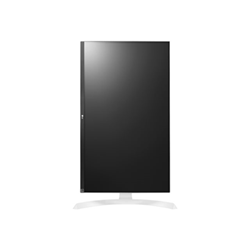 "Écran LED LG 27UD69P-W - Écran LED - 27"" (27"" visualisable) - 3840 x 2160 4K - AH-IPS - 300 cd/m² - 1000:1 - 5 ms - 2xHDMI, DisplayPort - blanc, argenté(e)"