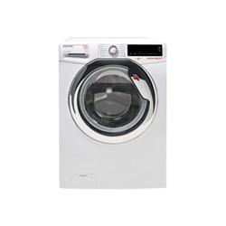 Machine à laver séchante Hoover Dynamic Next WDXA 4118AH - Machine à laver séchante - pose libre - largeur : 59.5 cm - profondeur : 65 cm - hauteur : 85 cm - chargement frontal - 80 litres - 11 kg - 1400 tours/min - blanc