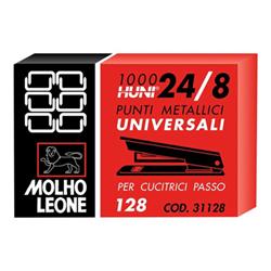 Molho Leone - Agrafes - 24/8 - pack de 1000