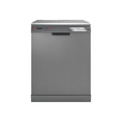 Lave-vaisselle Hoover Dynamic Next DYN 062X/E - Lave-vaisselle - pose libre - largeur : 60 cm - profondeur : 60 cm - hauteur : 85 cm - inox