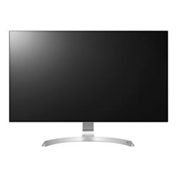 """Écran LED LG 32UD99-W - Écran LED - 32"""" (31.5"""" visualisable) - 3840 x 2160 4K - AH-IPS - 350 cd/m² - 1300:1 - 5 ms - 2xHDMI, DisplayPort, USB-C - haut-parleurs - argent (support), blanc (noir)"""