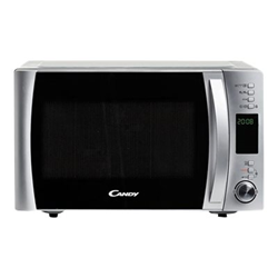Micro ondes Candy CMXG22DS - Four micro-ondes grill - pose libre - 22 litres - 800 Watt - inox