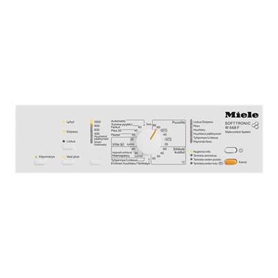 Lavatrice Miele - W668F