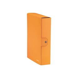 Raccoglitore Leitz - Cf5cartella progetti wow arancio