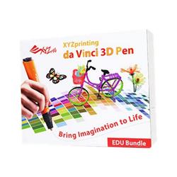 Stampante 3D 3d pen 1.0 edu pack - xyz printing - monclick.it