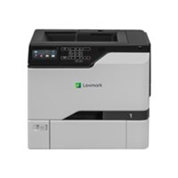 Imprimante laser Lexmark CS725de - Imprimante - couleur - Recto-verso - laser - A4/Legal - 1200 x 1200 ppp - jusqu'à 47 ppm (mono) / jusqu'à 47 ppm (couleur) - capacité : 650 feuilles - USB 2.0, Gigabit LAN, hôte USB 2.0