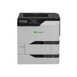 Imprimante laser Lexmark CS725dte - Imprimante - couleur - Recto-verso - laser - A4/Legal - 1200 x 1200 ppp - jusqu'à 47 ppm (mono) / jusqu'à 47 ppm (couleur) - capacité : 1200 feuilles - USB 2.0, Gigabit LAN, hôte USB 2.0