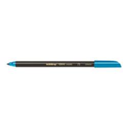 Stylo edding 1200 - Feutre - bleu métallique - encre à l'eau - 0.5-1 mm