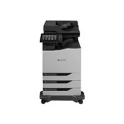 Imprimante laser multifonction Lexmark CX825dte - Imprimante multifonctions - couleur - laser - Legal (216 x 356 mm)/A4 (210 x 297 mm) (original) - A4/Legal (support) - jusqu'à 52 ppm (copie) - jusqu'à 52 ppm (impression) - 1750 feuilles - 33.6 Kbits/s - USB 2.0, Gigabit LAN, hôte USB