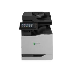 Imprimante laser multifonction Lexmark CX860de - Imprimante multifonctions - couleur - laser - Legal (216 x 356 mm)/A4 (210 x 297 mm) (original) - A4/Legal (support) - jusqu'à 57 ppm (copie) - jusqu'à 57 ppm (impression) - 650 feuilles - 33.6 Kbits/s - USB 2.0, Gigabit LAN, hôte USB