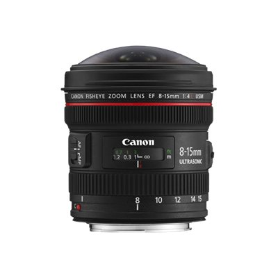 Canon - EF 8-15MM F4 L USM