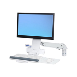 Lenovo - Ergotron styleview sit-stand combo