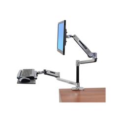 Lenovo - Ergotron workfit-lx sit-stand desk