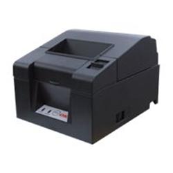 Imprimante thermique code barre OKI PT340 - Imprimante de reçus - papier thermique - Rouleau (8 cm) - 203 dpi - jusqu'à 300 mm/sec - USB 2.0, série
