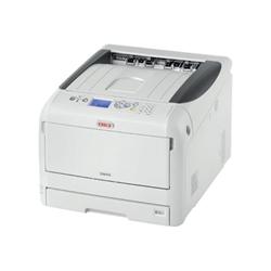 Imprimante laser OKI C823n - Imprimante - couleur - en option - LED - A3 - 1200 x 600 ppp - jusqu'à 23 ppm (mono) / jusqu'à 23 ppm (couleur) - capacité : 400 feuilles - USB 2.0, Gigabit LAN, hôte USB 2.0