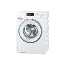 Lave-linge Miele W1 WMB 120 - Machine à laver - pose libre - Niche - largeur : 60 cm - hauteur : 85 cm - chargement frontal - 8 kg - 1600 tours/min - blanc lotus