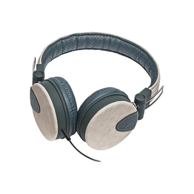 SPEAK STYLE BEIGE GREY - HEADPHONES WITH MICROPHONE