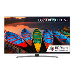 TV LED LG - Smart 49UH770V Super Ultra HD 4K