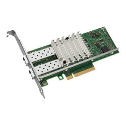 Intel X520-DA2 - Adaptateur réseau - PCIe 2.0 x8 faible encombrement - 10 GigE - 2 ports - pour System x3100 M5; x3530 M4; x3650 M4 HD; x3690 X5; x36XX M3; x3755 M3; x3850 X6; x3950 X6