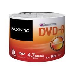 Sony - Dvd-r 16x spindle bulk