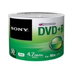 Sony - Dvd r 16x spindle bulk