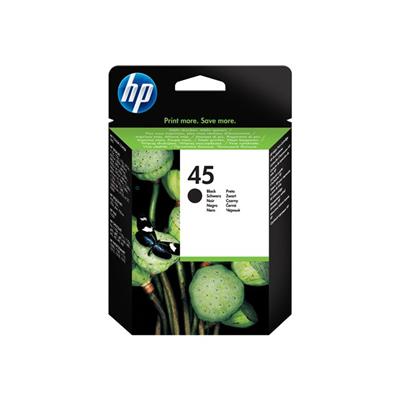 Cartuccia inkjet HP - CART.INK NERO HP N.45 NERO BLISTER