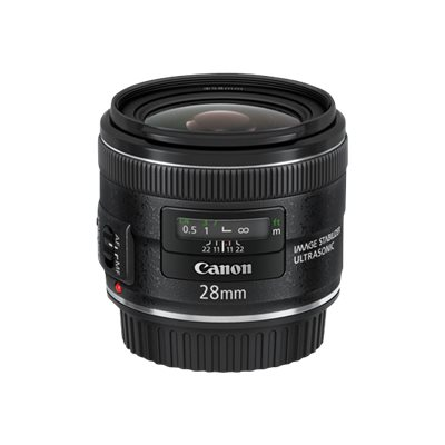 Canon - EF 28MM F 2.8 IS USM