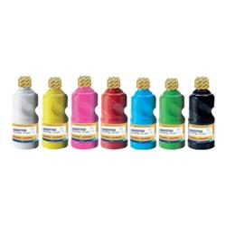 Gouache GIOTTO SCHOOL - Peinture - tempéra - couleurs assorties - 250 ml - pack de 8