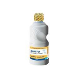 Gouache GIOTTO SCHOOL - Peinture - tempéra - blanc - 250 ml
