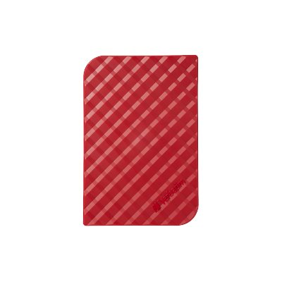 Verbatim - HD EST.USB 3.0-1 TB-2.5 SLIM RED