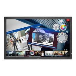 """Écran LFD NEC MultiSync E805 SST - Classe 80"""" - E Series écran DEL - signalisation numérique - avec écran tactile - 1080p (Full HD) - système de rétroéclairage en bordure par DEL Edge-Lit - noir"""