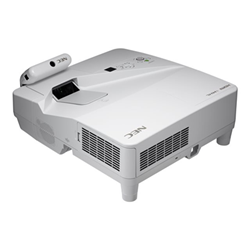 Vidéoprojecteur NEC U321Hi (Multi-Touch) - Projecteur DLP - 3D - 3200 ANSI lumens - 1920 x 1080 - 16:9 - HD 1080p - Objectif fixe de portée ultra courte