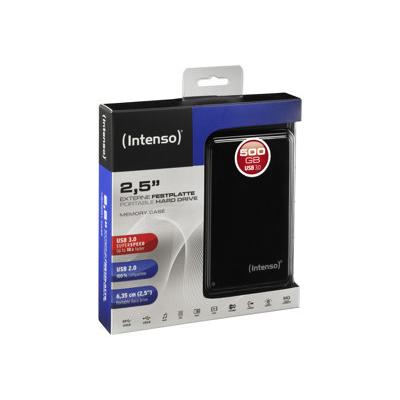 Intenso - HDD ESTERNO NERO 500GB 2.5P