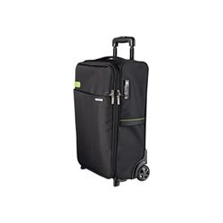 Sacoche Leitz Complete Smart Traveller - Valise verticale - polyester durable - noir