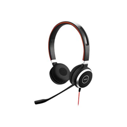 Jabra Evolve 40 MS stereo - Casque - sur-oreille