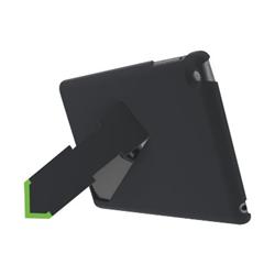 Coque Leitz Complete Privacy Case landscape view - Étui pour tablette - noir - pour Apple iPad (3ème génération); iPad 2